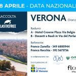 Giornata Nazionale PlasticFree: pulizia a Verona Sud per sensibilizzare i cittadini