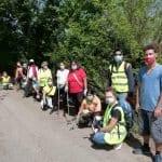 Camminata ecologica al Parco dell'Adige: raccolti 30 sacchi di rifiuti