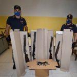 Aveva un arsenale in casa, arrestato dalla Squadra Mobile 25enne residente a Castel d'Azzano