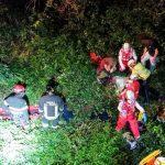 Giovane centauro cade per sei metri nel dirupo della Pissarotta, soccorso dai Vigili del Fuoco